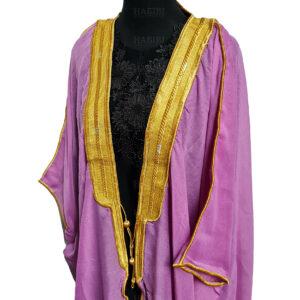 Wmnbsht 014 Women's 3 Quarter Sleeve Arabian Bisht Cloak Arab Dress Thobe Islam Robe Eid 0528 204729