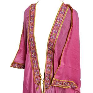 Wmnbsht 015 Women's 3 Quarter Sleeve Arabian Bisht Cloak Arab Dress Thobe Islam Robe Eid 0528 204446