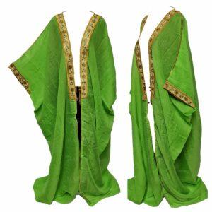 Wmnbsht 0165 Women's 3 Quarter Sleeve Arabian Bisht Cloak Arab Dress Thobe Islam Robe Eid 05 30t004537.342
