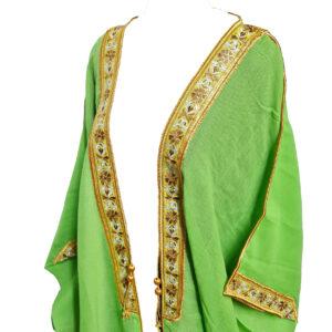 Wmnbsht 0165 Women's 3 Quarter Sleeve Arabian Bisht Cloak Arab Dress Thobe Islam Robe Eid 0528 204211