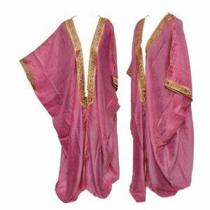 Wmnbsht 017 Women's 3 Quarter Sleeve Arabian Bisht Cloak Arab Dress Thobe Islam Robe Eid 05 30t004725.715