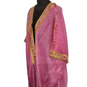 Wmnbsht 017 Women's 3 Quarter Sleeve Arabian Bisht Cloak Arab Dress Thobe Islam Robe Eid 0528 203911