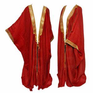 Wmnbsht 018 Women's 3 Quarter Sleeve Arabian Bisht Cloak Arab Dress Thobe Islam Robe Eid 05 30t004856.660