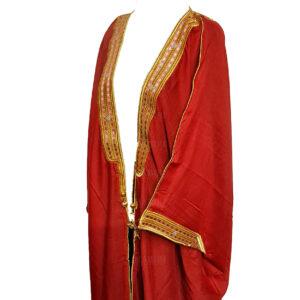 Wmnbsht 018 Women's 3 Quarter Sleeve Arabian Bisht Cloak Arab Dress Thobe Islam Robe Eid 0528 203646