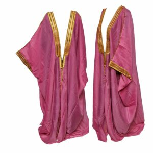 Wmnbsht 019 Women's 3 Quarter Sleeve Arabian Bisht Cloak Arab Dress Thobe Islam Robe Eid 05 30t005020.004