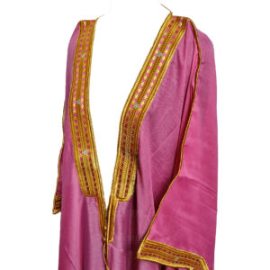 Wmnbsht 019 Women's 3 Quarter Sleeve Arabian Bisht Cloak Arab Dress Thobe Islam Robe Eid 0528 203418