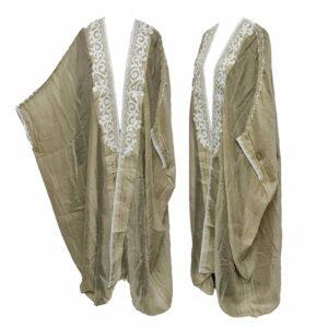 Wmnbsht 022 Women's 3 Quarter Sleeve Arabian Bisht Cloak Arab Dress Thobe Islam Robe Eid 05 29t212740.317