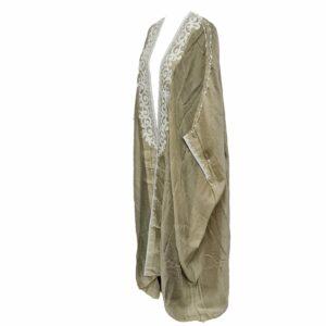 Wmnbsht 022 Women's 3 Quarter Sleeve Arabian Bisht Cloak Arab Dress Thobe Islam Robe Eid 0528 202358