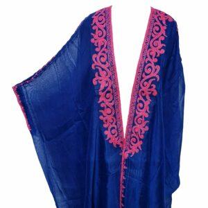 Wmnbsht 024 Women's 3 Quarter Sleeve Arabian Bisht Cloak Arab Dress Thobe Islam Robe Eid 0528 201936