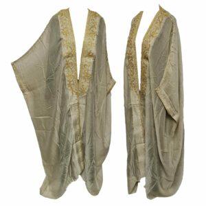 Wmnbsht 025 Women's 3 Quarter Sleeve Arabian Bisht Cloak Arab Dress Thobe Islam Robe Eid 05 29t205737.011