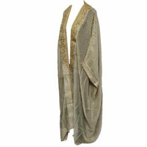 Wmnbsht 025 Women's 3 Quarter Sleeve Arabian Bisht Cloak Arab Dress Thobe Islam Robe Eid 0528 201747