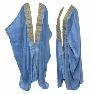 Wmnbsht 026 Women's 3 Quarter Sleeve Arabian Bisht Cloak Arab Dress Thobe Islam Robe Eid 05 29t204932.189