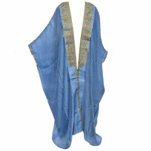 Wmnbsht 026 Women's 3 Quarter Sleeve Arabian Bisht Cloak Arab Dress Thobe Islam Robe Eid 0528 201509