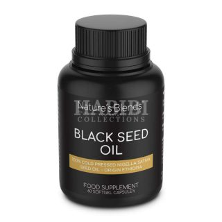 Black Seed Oil Capsules - Nature's Blends - 100% Organic
