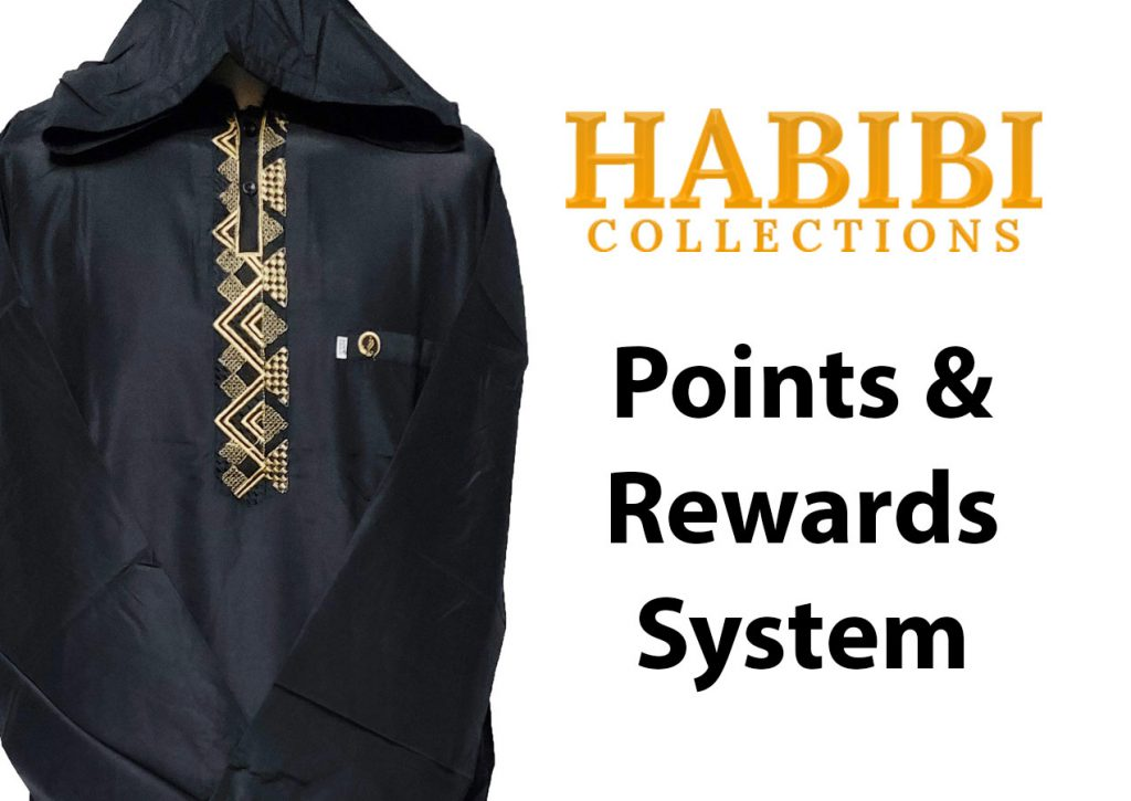 The new Habibi Points & Rewards Program allows members to earn points on their orders which can be used in exchange for discounts and other rewards.