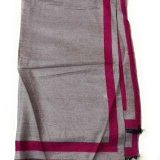 Hot & Dusky Pink 2-Tone 100% Cashmere Scarf Unisex