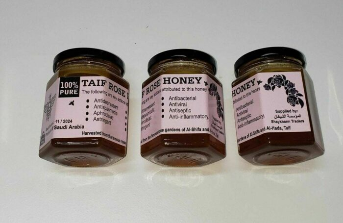 100% Organic Honey provided by HabibiCollections.com